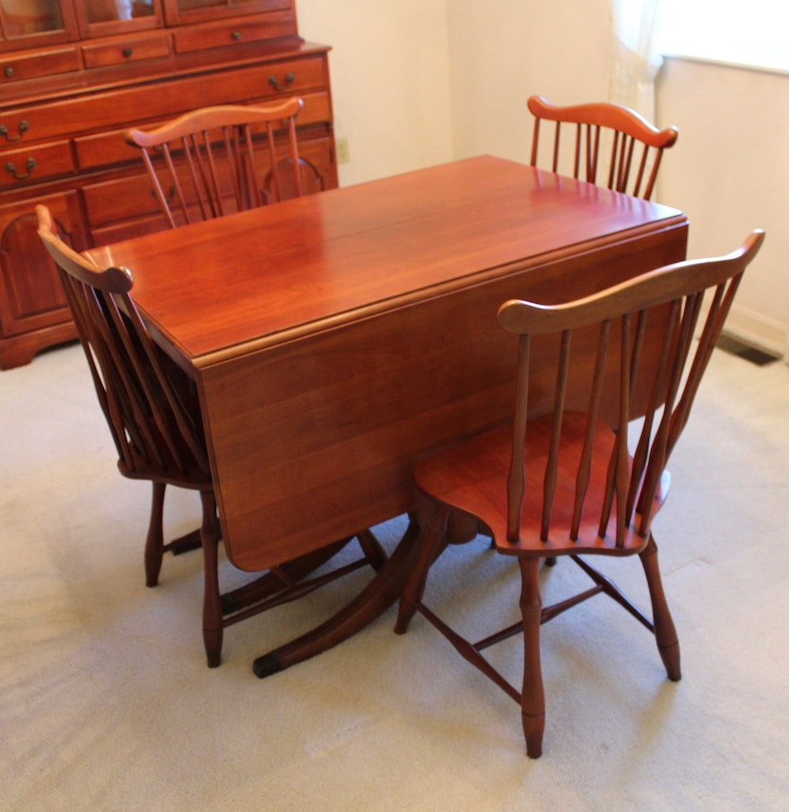 Ixlib Rb Fit Crop Auto Format Duncan Phyfe Style Cherry Dining Table