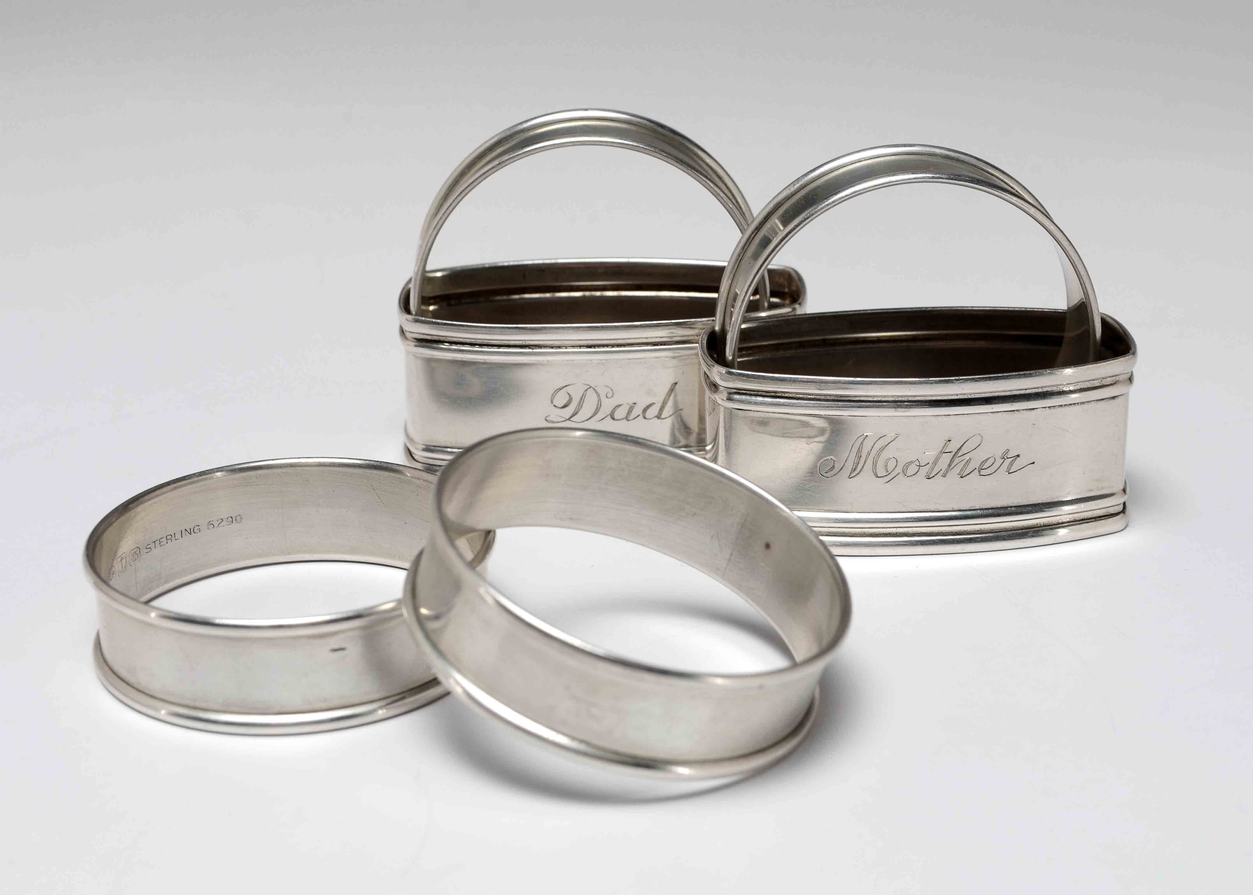 Sterling Napkin Rings
