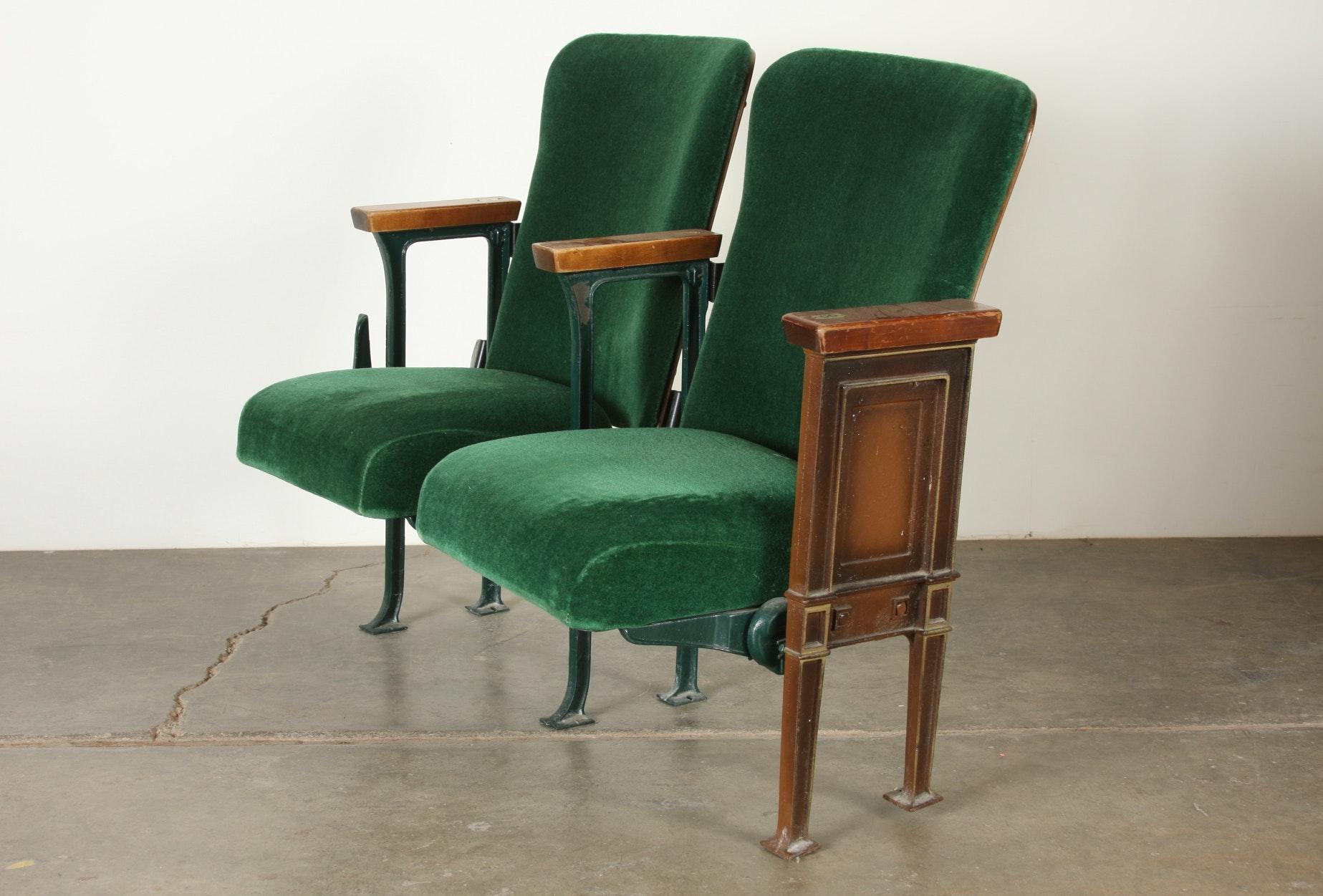 vintage theatre seats