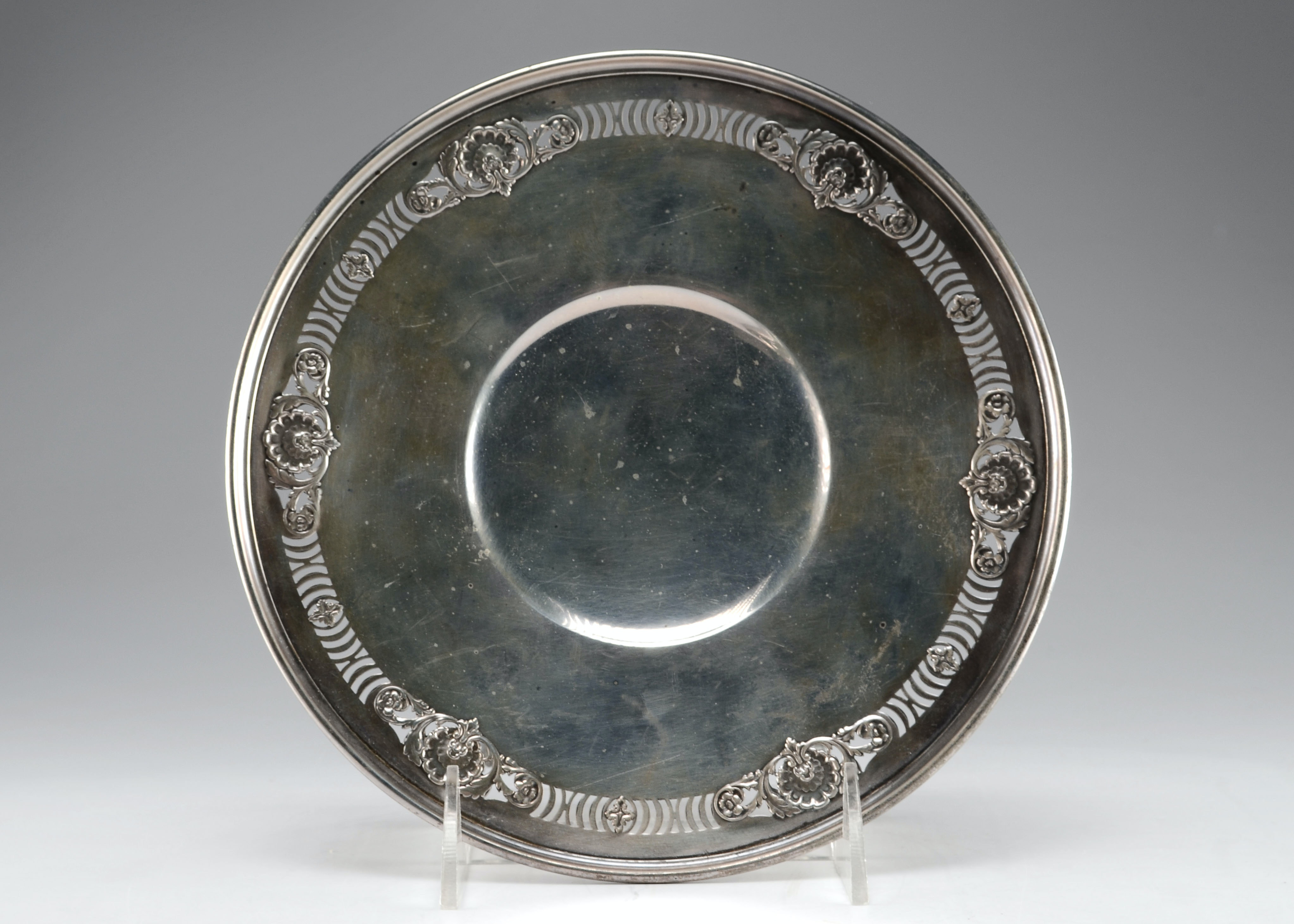 Sterling Silver Bonbon Plate