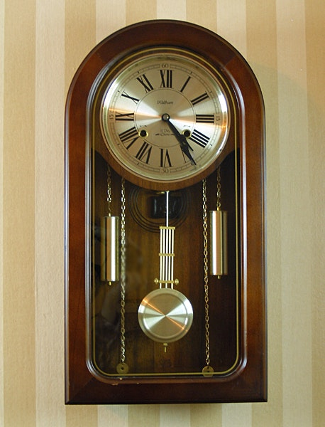 Waltham 31 Day Wall Clock Ebth
