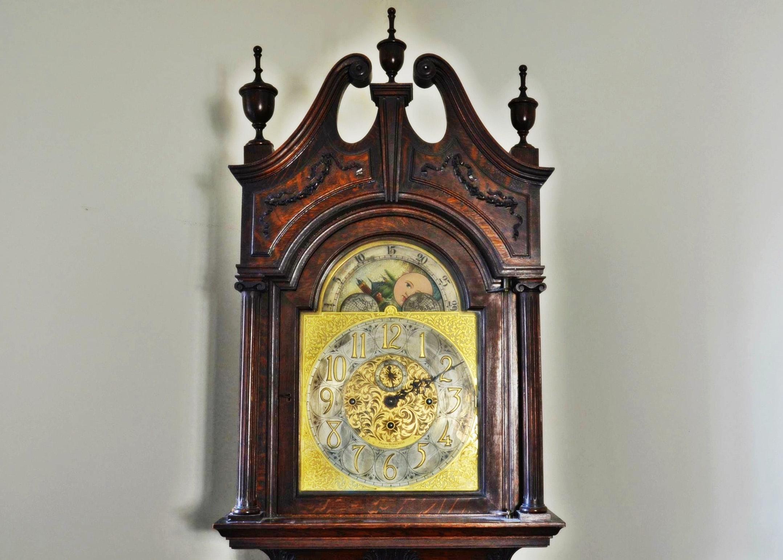 Circa 1918 Frank Herschede grandfather clock.