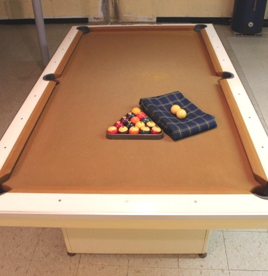 Mid Century Basement: Mid Century Brunswick Celebrity Billiard Table : EBTH