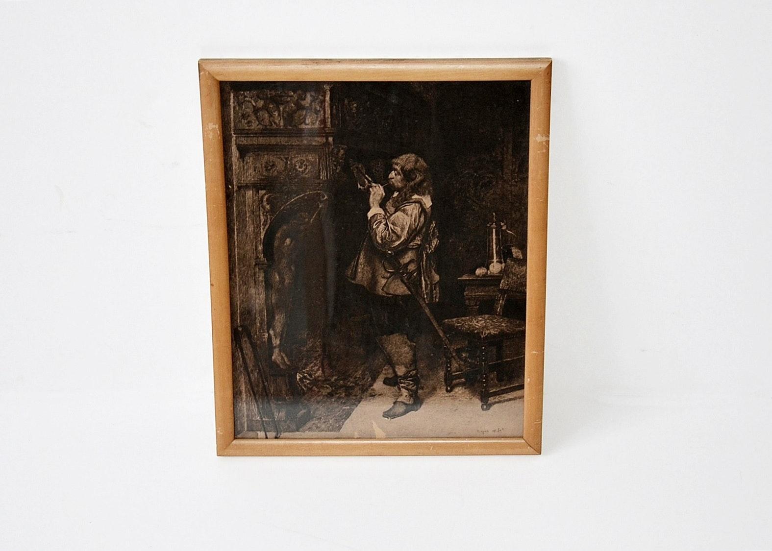 Etching by Paul-Adolphe Rajon.