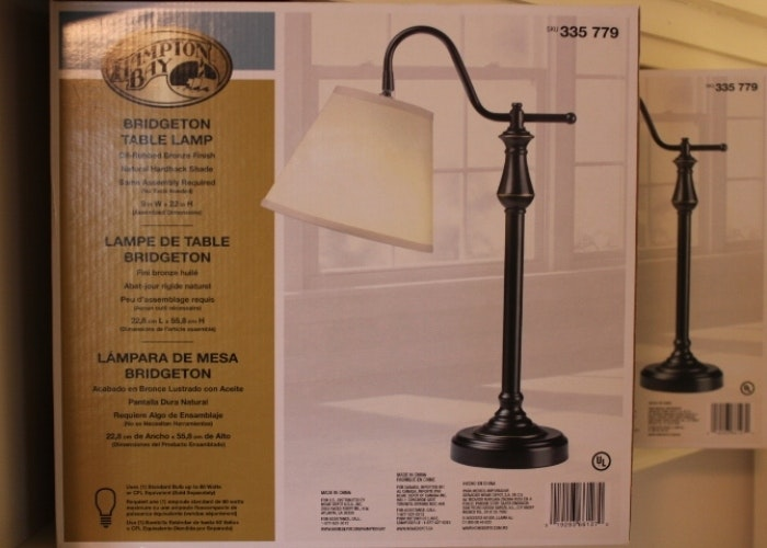 Pair Of Hampton Bay Table Lamps Ebth