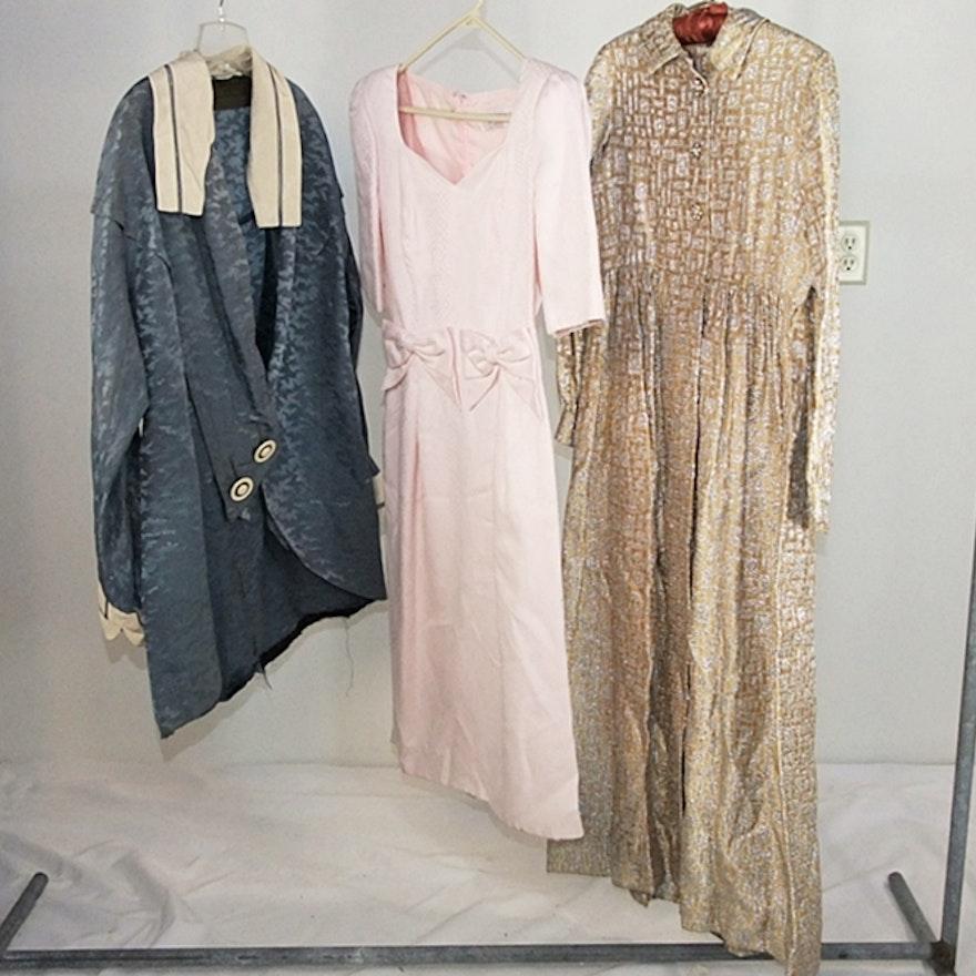 Three articles of vintage clothing including a designer vintage ...