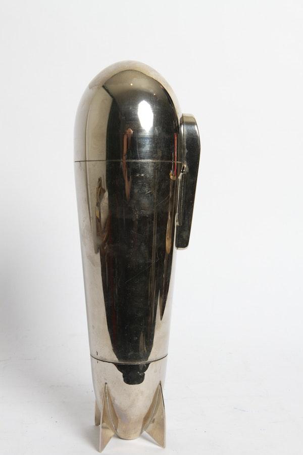 Art Deco Zeppelin Shaker