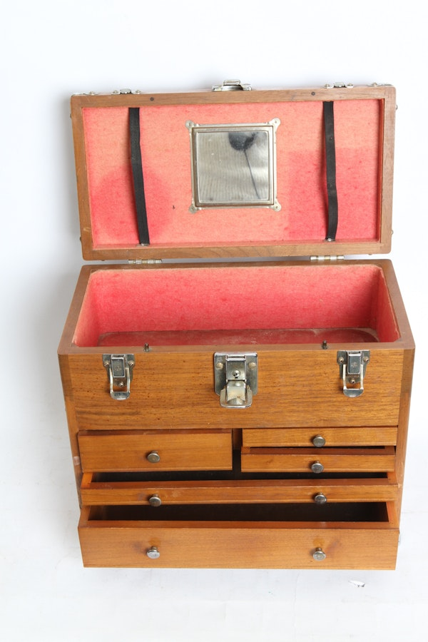 Wood Machinist Toolbox