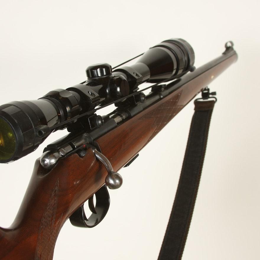 Anschutz Model 1418  22LR Caliber rifle with scope