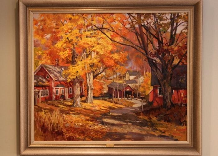 George Cherepov Oil Painting