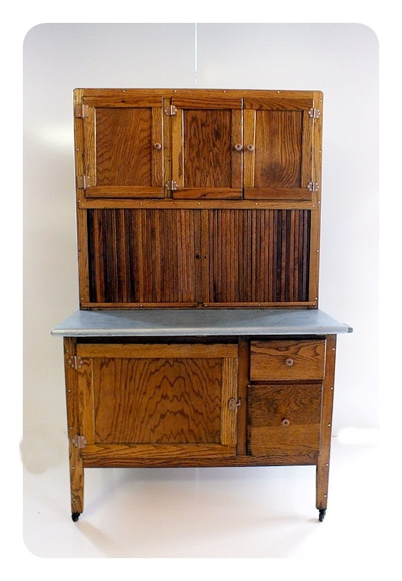 Hoosier Style Kitchen Cabinet/cupboard