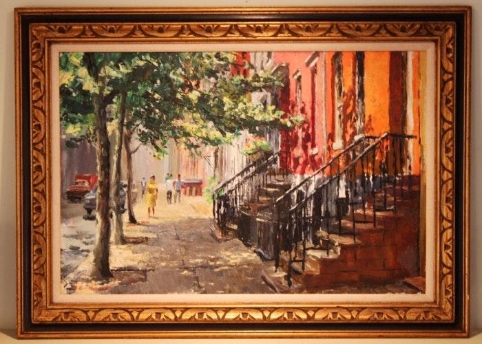 Peter Hayward Oil Painting