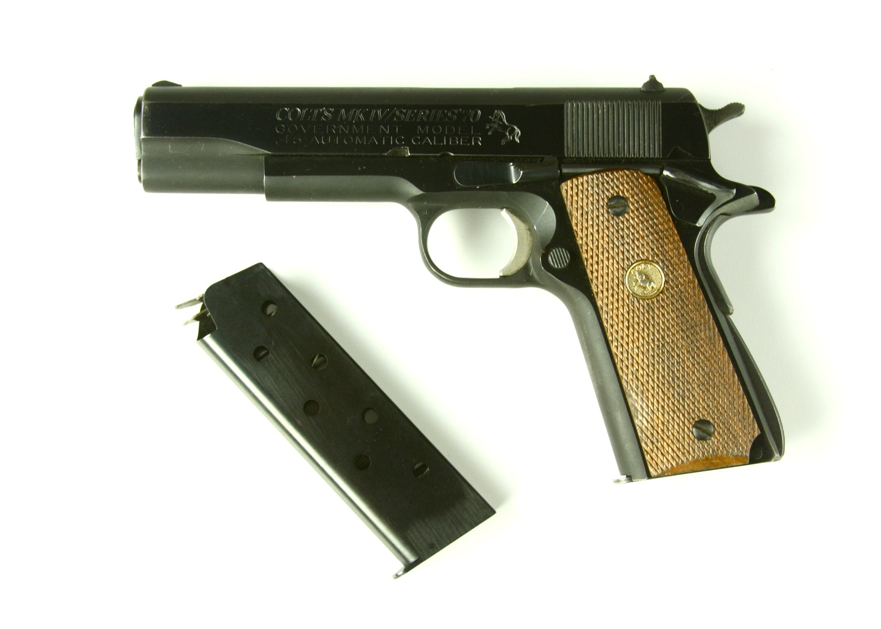 Colt 45 MK IV Series 70 pistol