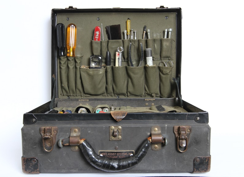 Case with Various Tools