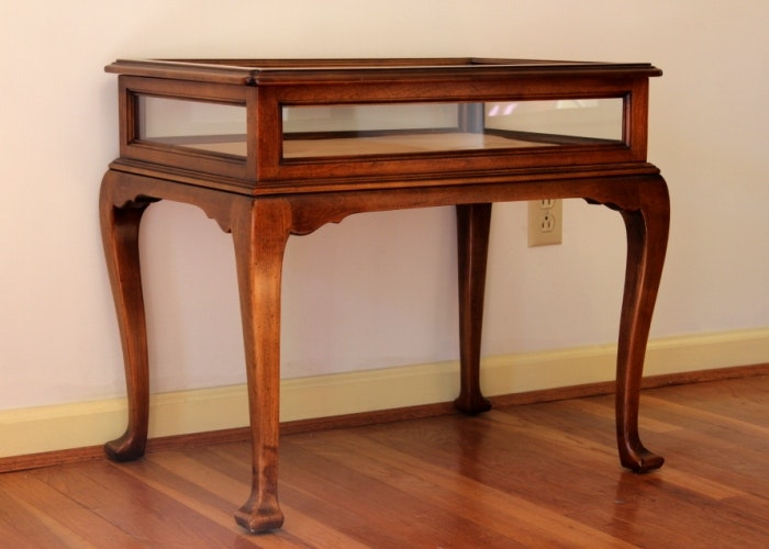 Cherry Curio Table By Statton ...