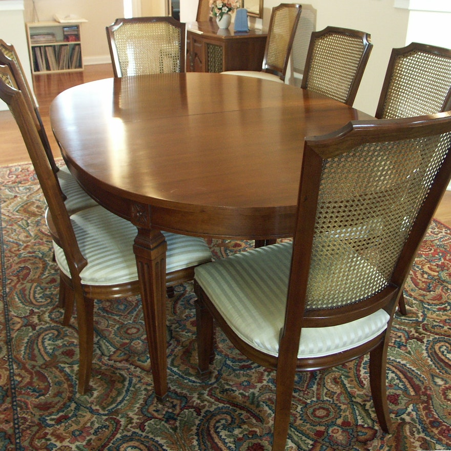 Formal Dining Table: Kindel Furniture Formal Dining Table And 10 Chairs : EBTH