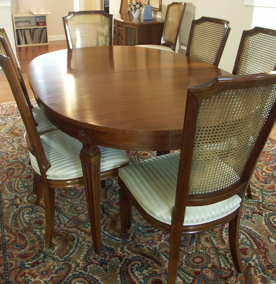 Dining Room Table For 10 Kindel Furniture Formal Dining Table And 10 Chairs Ebth