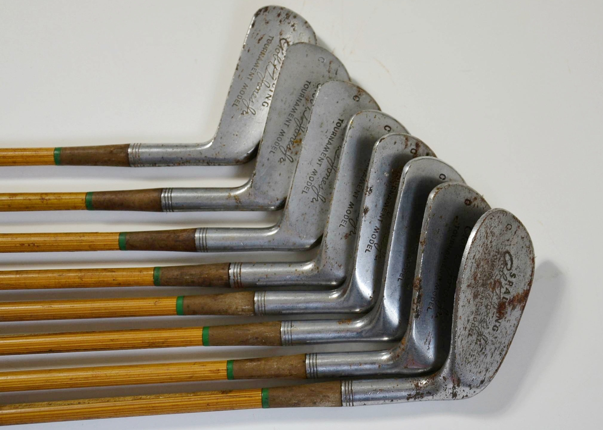 Circa 1950 S Spalding Robert T Jones Jr Golf Club Set