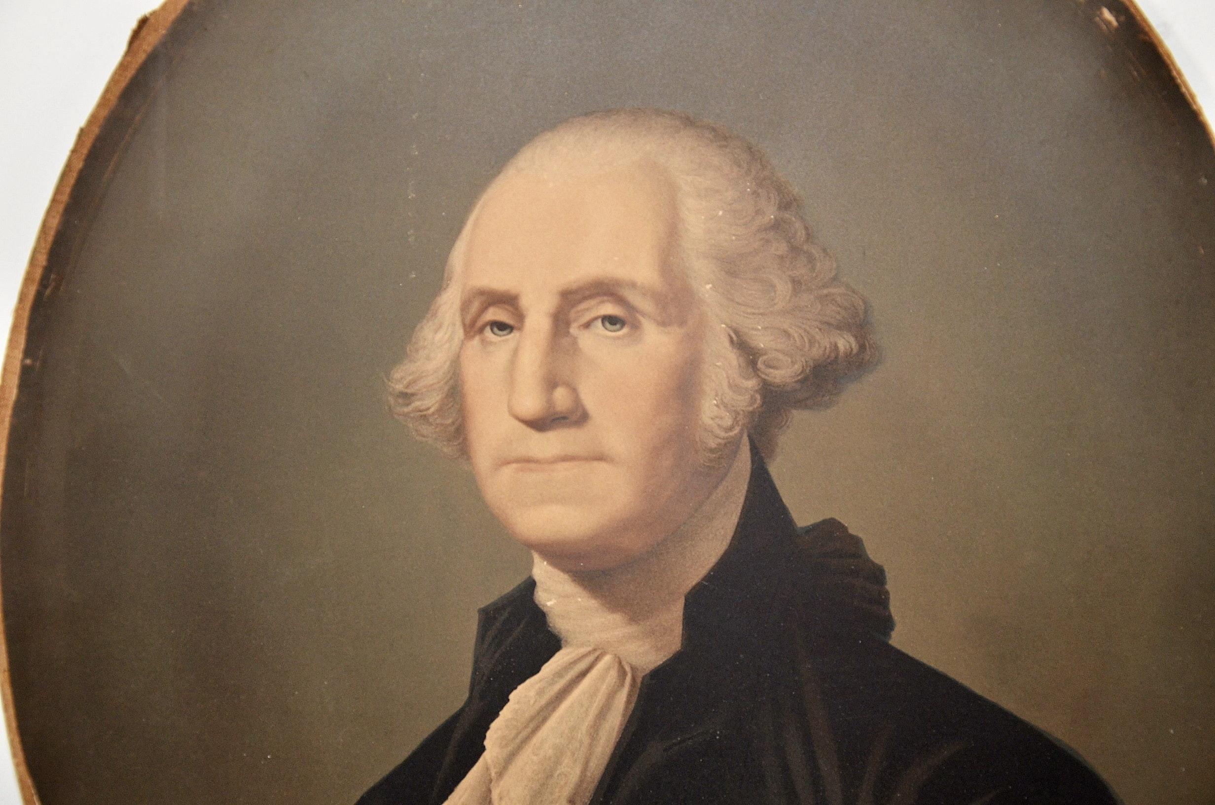 E C Middleton s chromolithographed portrait of George Washington