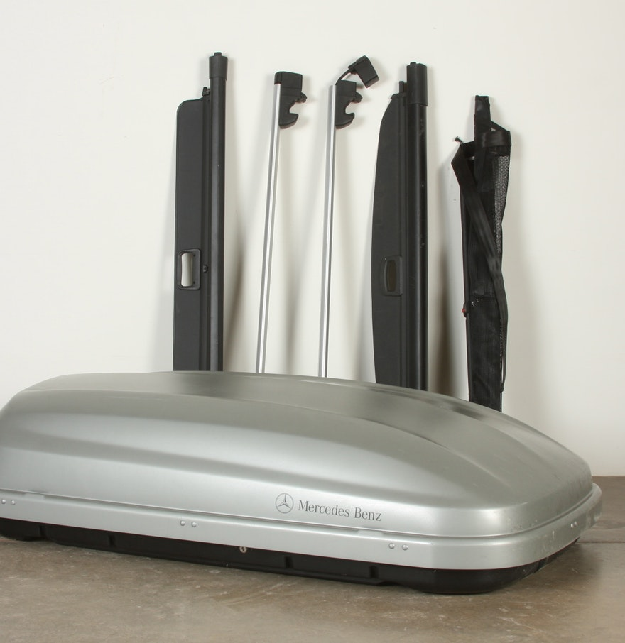 Mercedes benz car roof box and rack ebth for Mercedes benz roof box