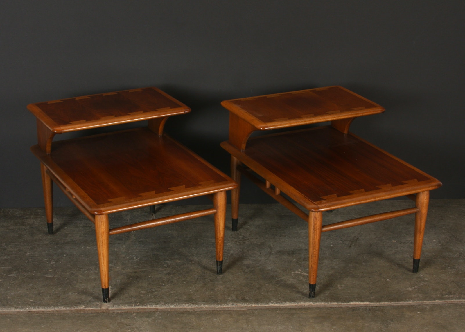 Mid Century Lane End Tables ...