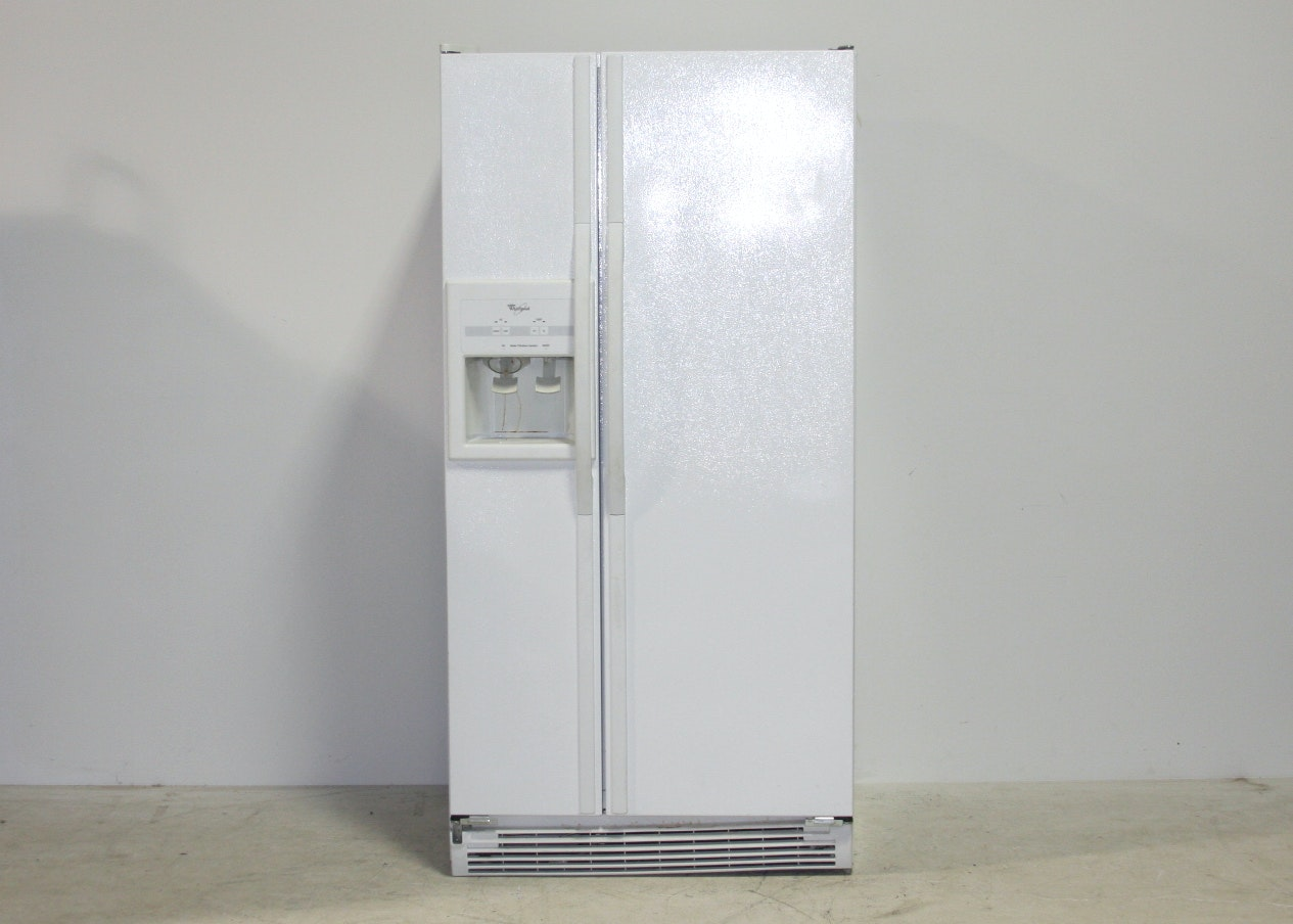 Whirlpool Side By Side Refrigerator And Freezer Ebth
