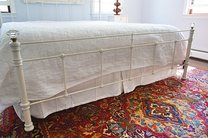Pottery Barn Quot Claudia Quot King Size Iron Bed Ebth