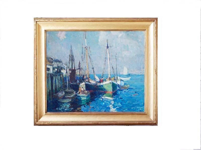 Harry Aiken Vincent Oil Painting