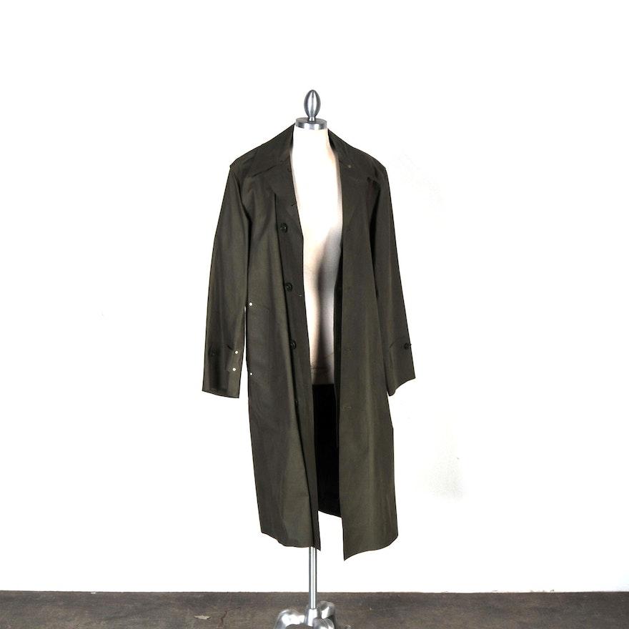 WWII Military Raincoat