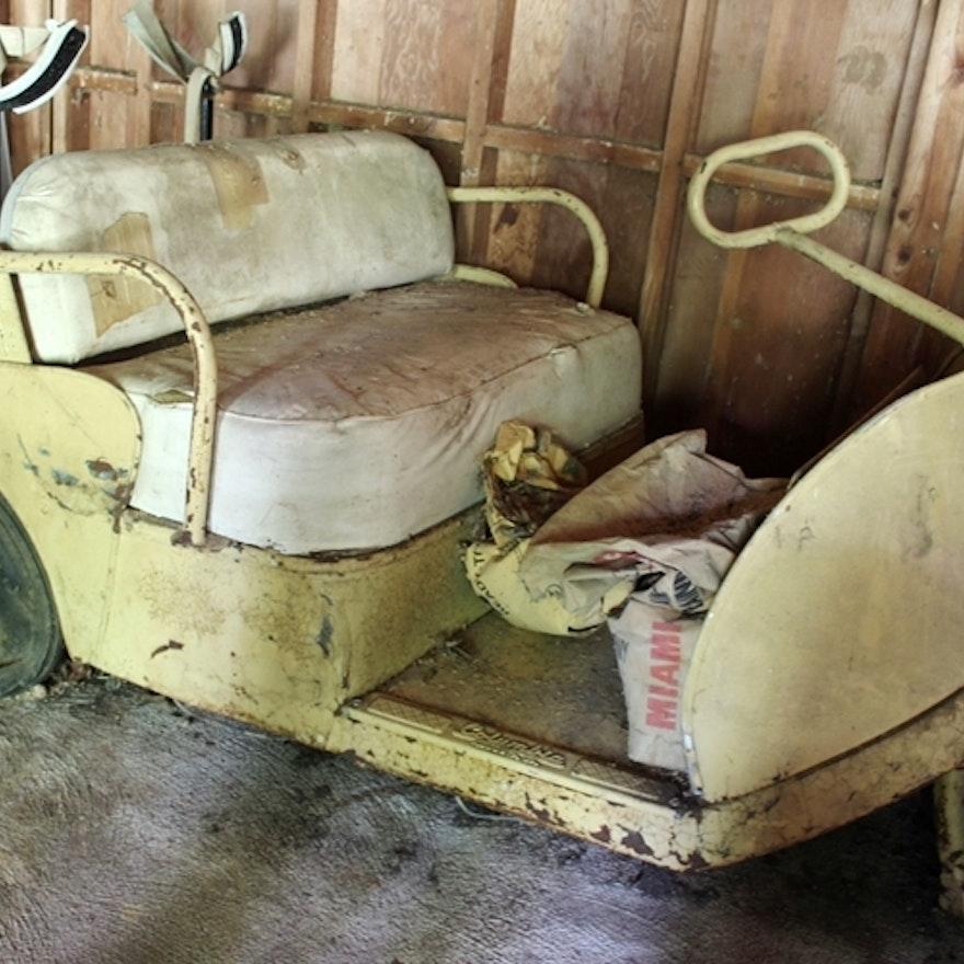 1950s Pargo Golf Cart