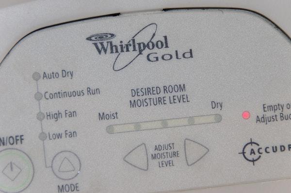 Whirlpool Accudry Dehumidifier : EBTH