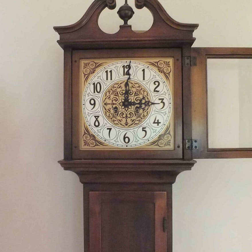 Grandmother Pine Clock Ebth