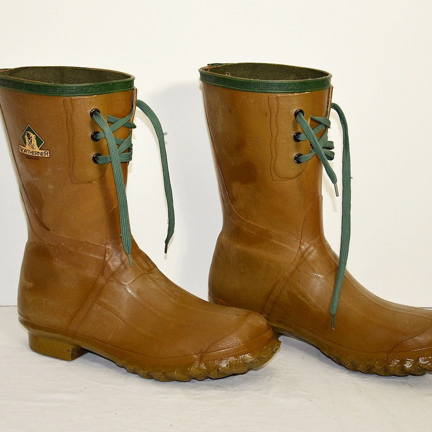 907e6899e68 Northerner rubber boots by Servus.