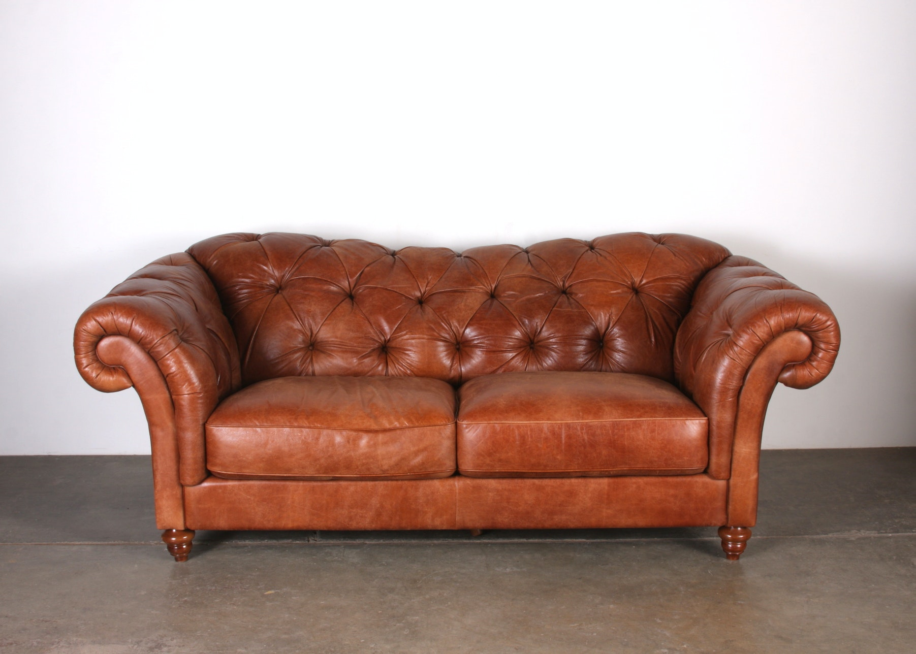 Natuzzi Editions Fine Italian Leather Sofa