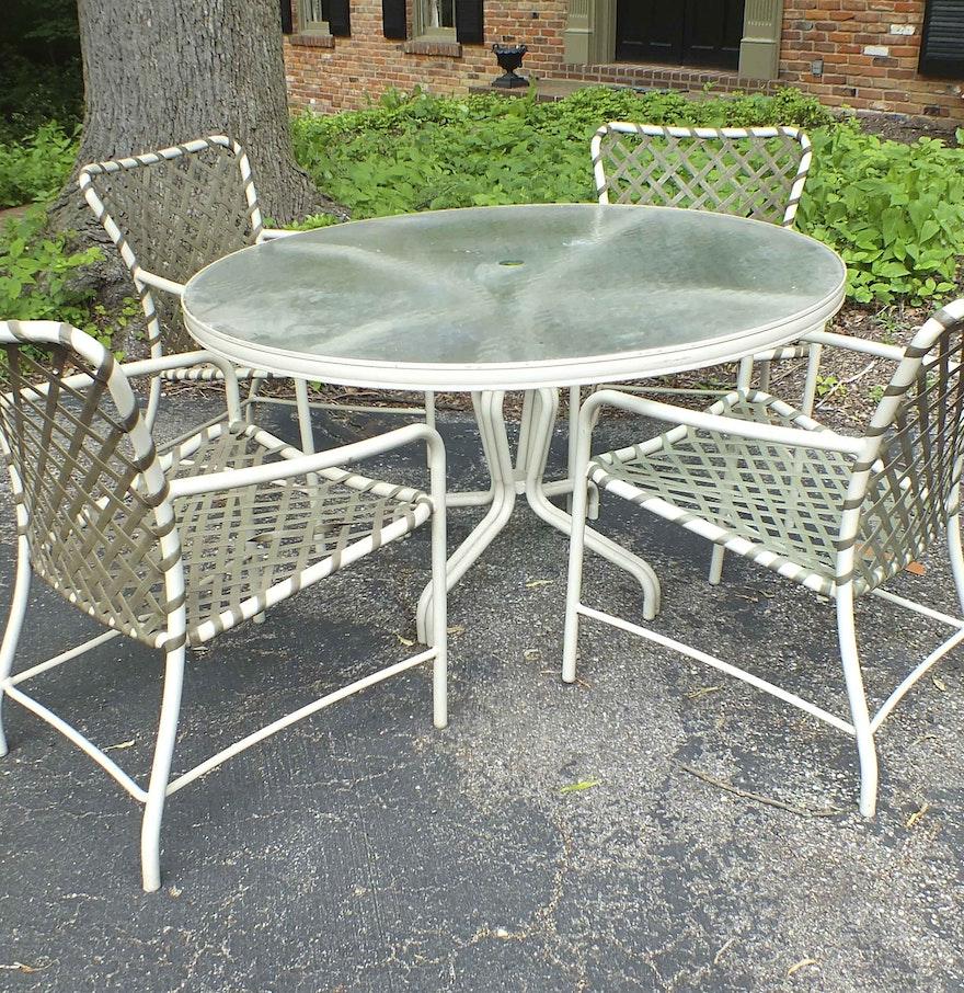 Brown jordan patio furniture ebth for Brown jordan lawn furniture