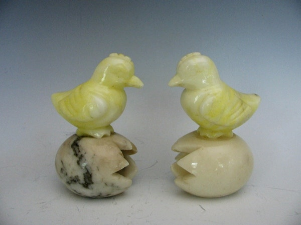 Carved Alabaster Animals Ebth