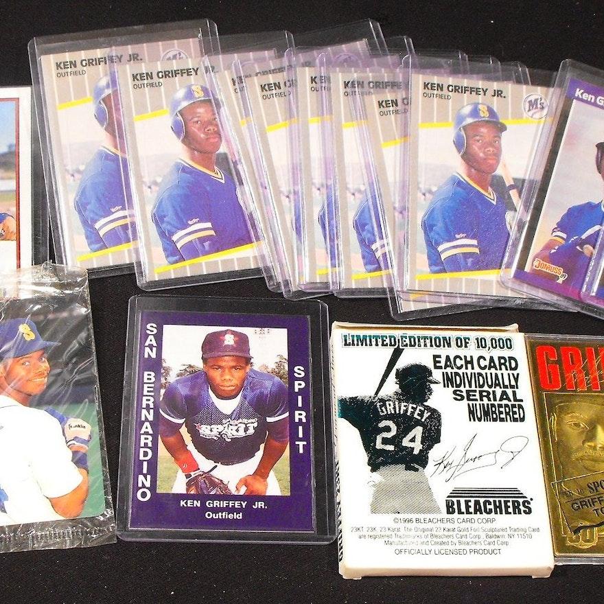 Large Ken Griffey Jr Baseball Card Lot