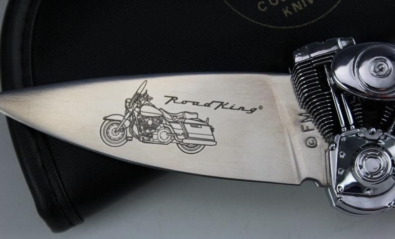 Franklin Mint Harley Davidson Collector Knife Ebth