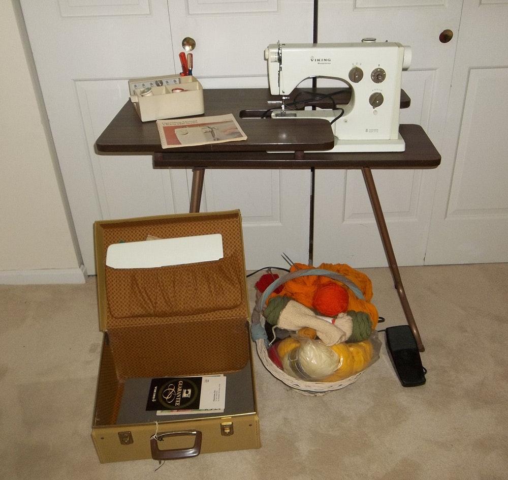 husqvarna sewing machine history
