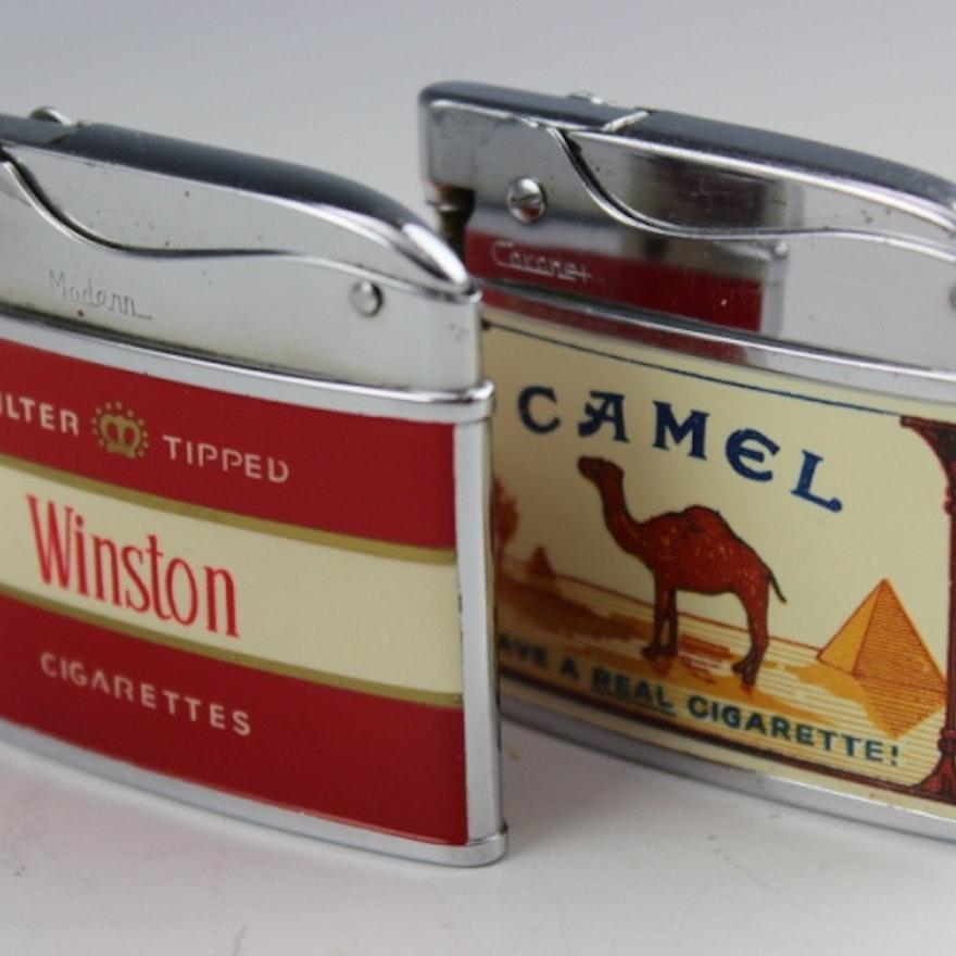 Circa 1960's Cigarette Lighters