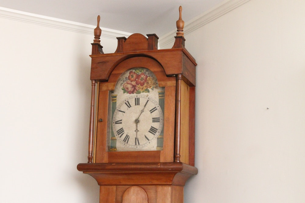 Country Longcase Clock