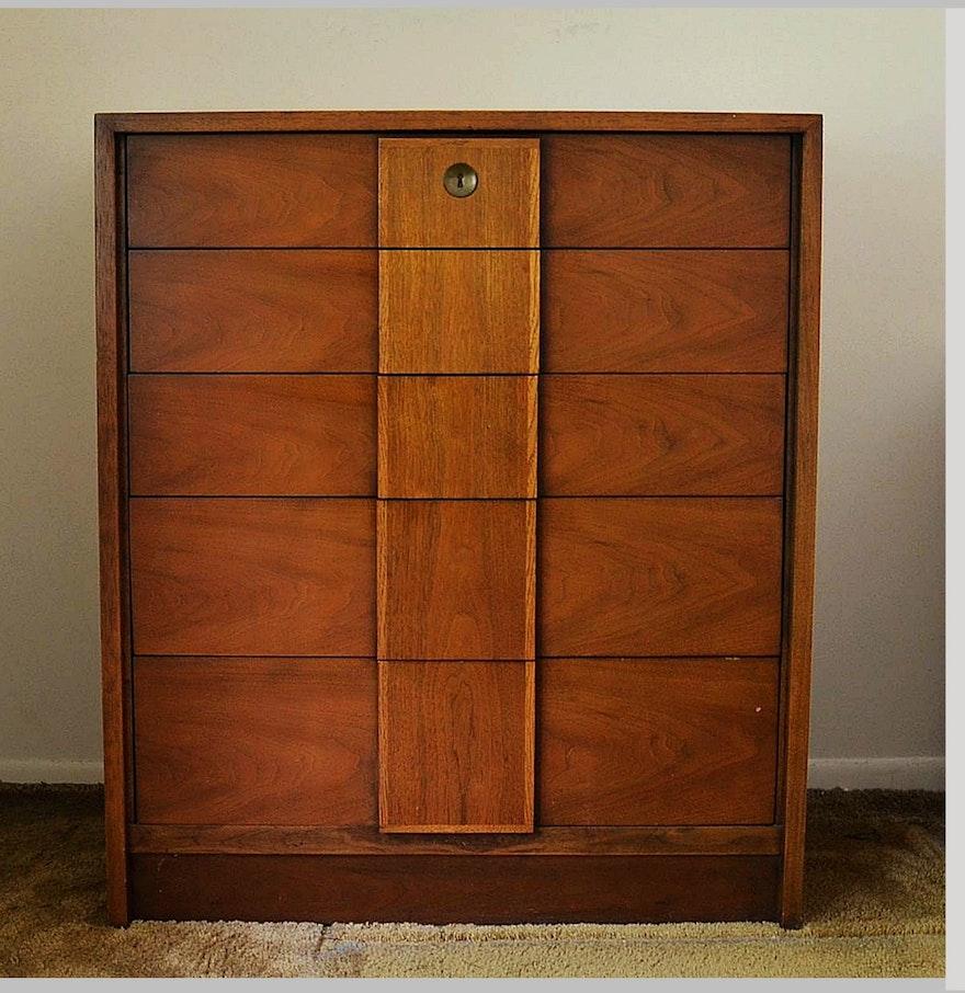 century mid century modern chest of drawers ebth. Black Bedroom Furniture Sets. Home Design Ideas