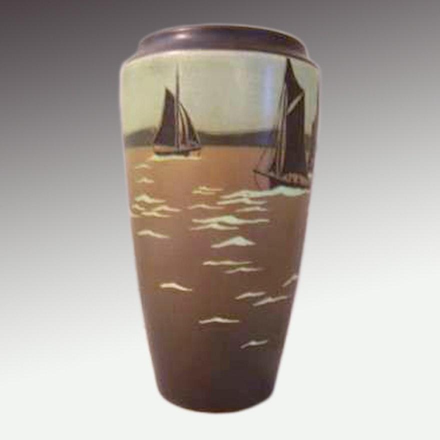 Rookwood 1910 Sara Sax Vase Ebth