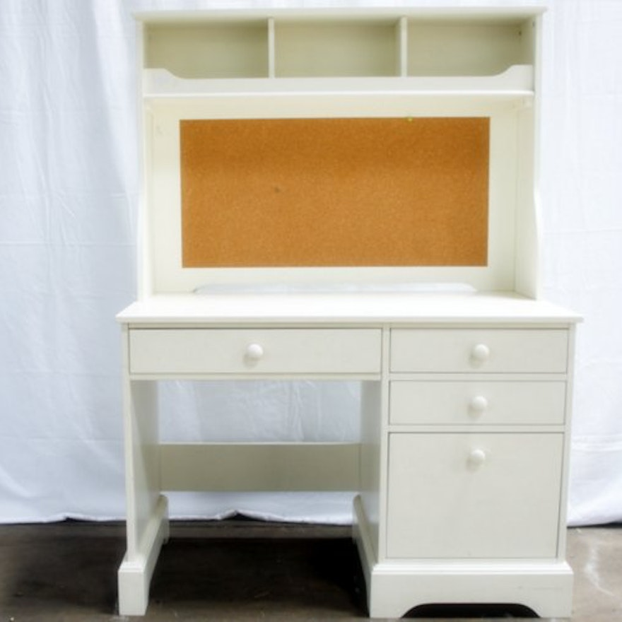 Pottery Barn Kids Catalina White Desk With