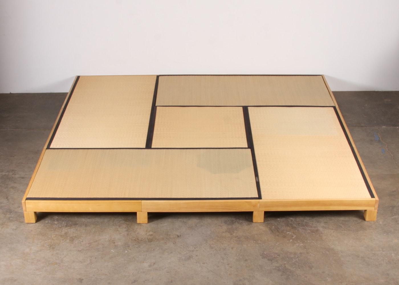 Low Platform Tatami Bed   EBTH
