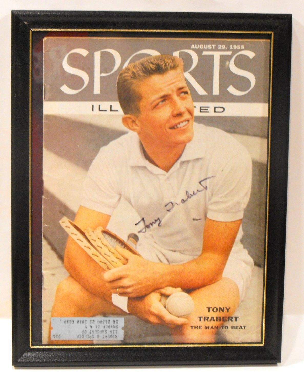 1955 Tony Trabert Tennis Star & University Cincinnati Star