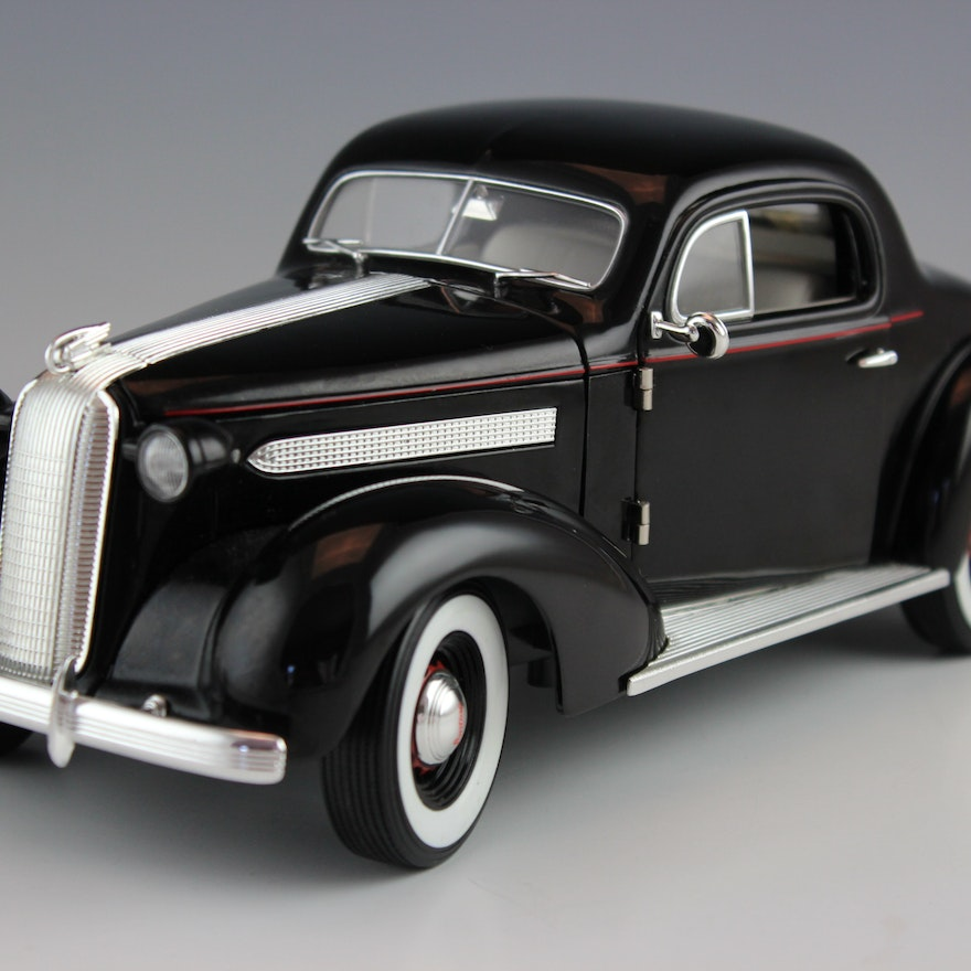1936 Pontiac Deluxe Coupe Die Cast Model Ebth
