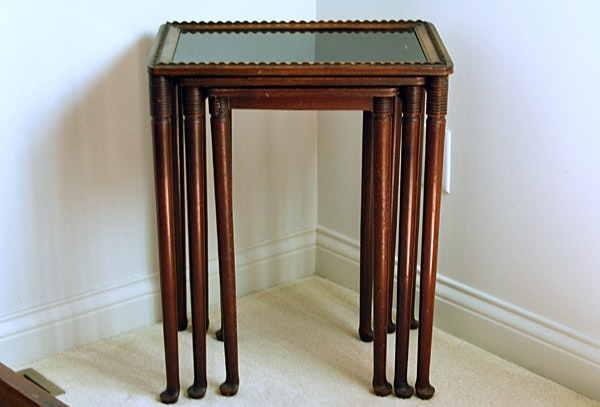 Antique Nesting Tables ...