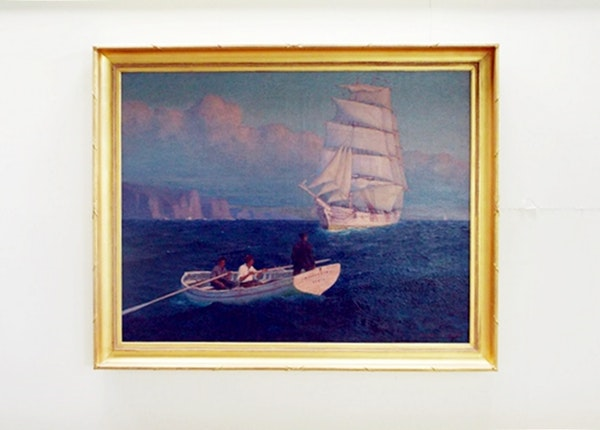 Lionel Walden Painting For Sale