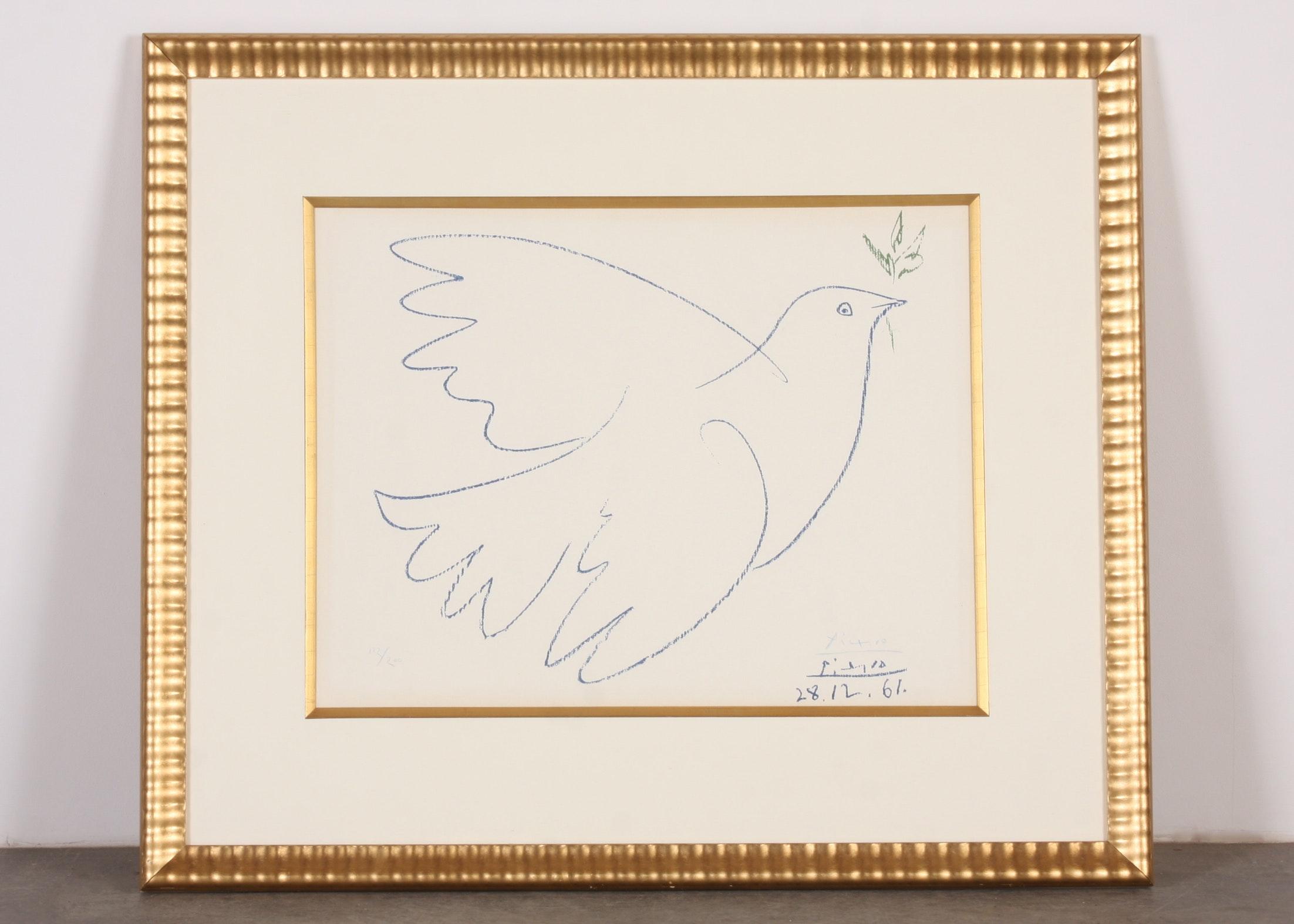 Original Pablo Picasso Lithograph
